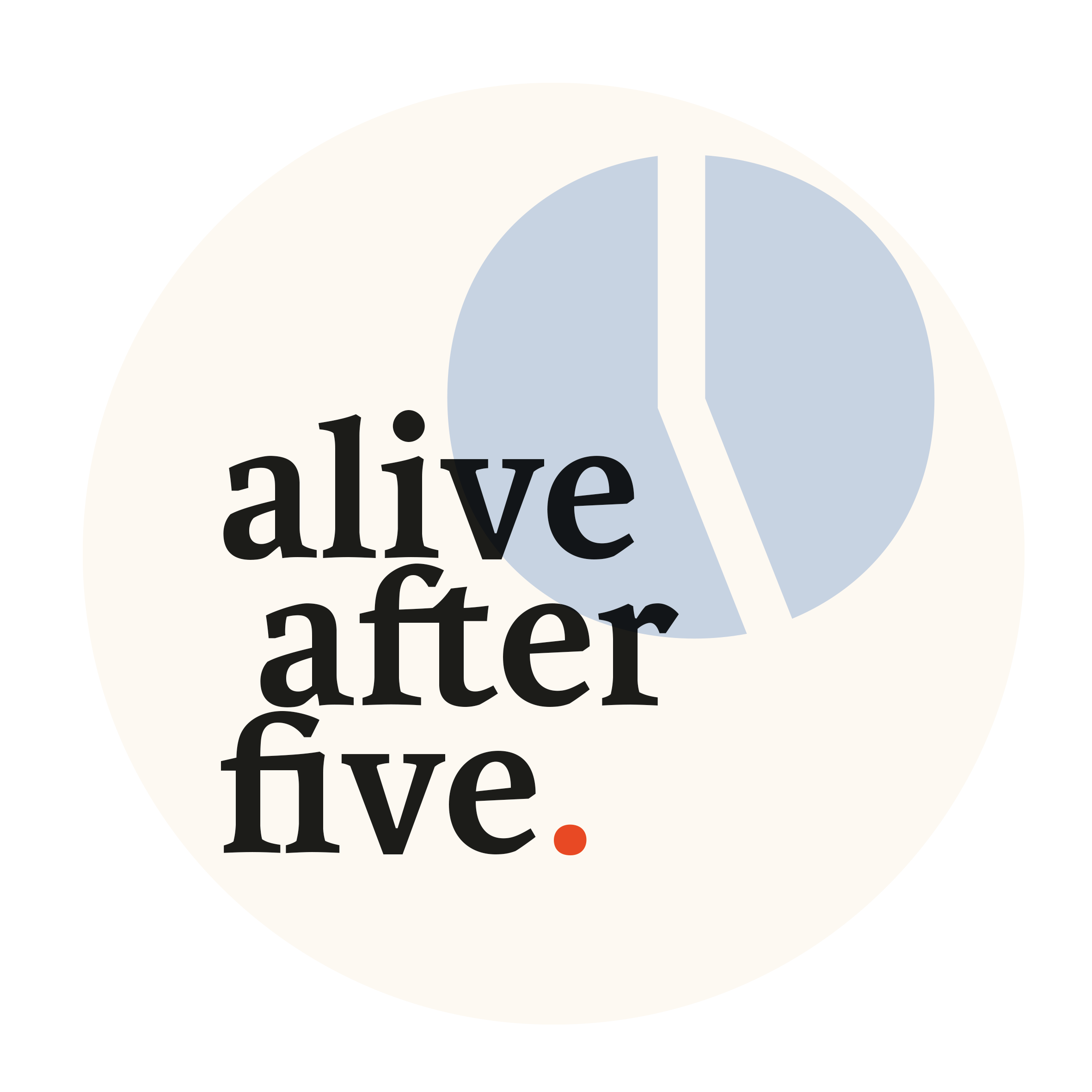 Logo alive after five