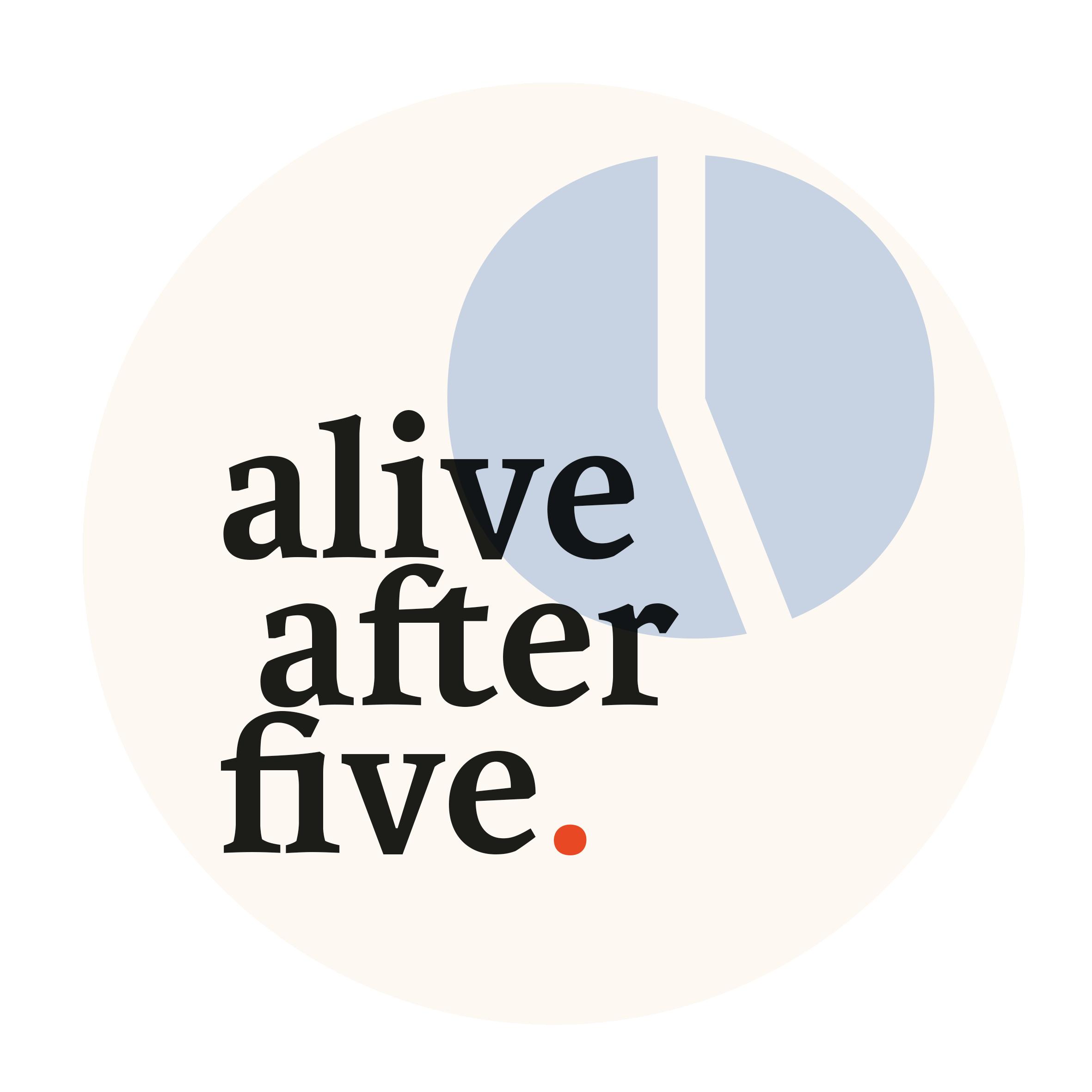 Logo alive after five