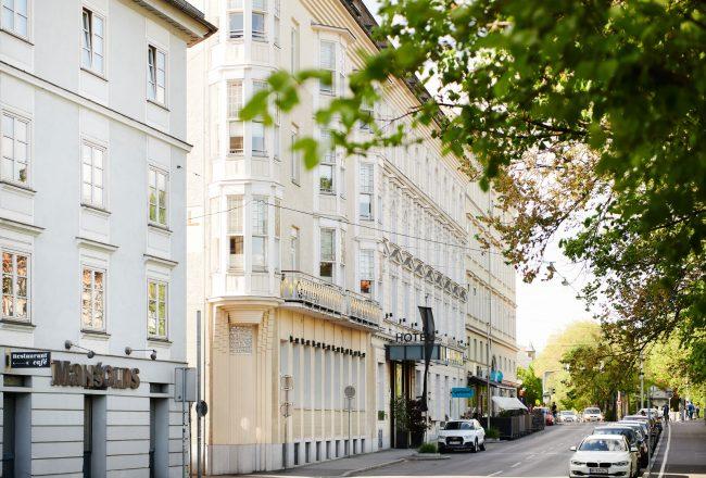 Grand Hôtel Wiesler Außenfassade © Weitzer Hotels