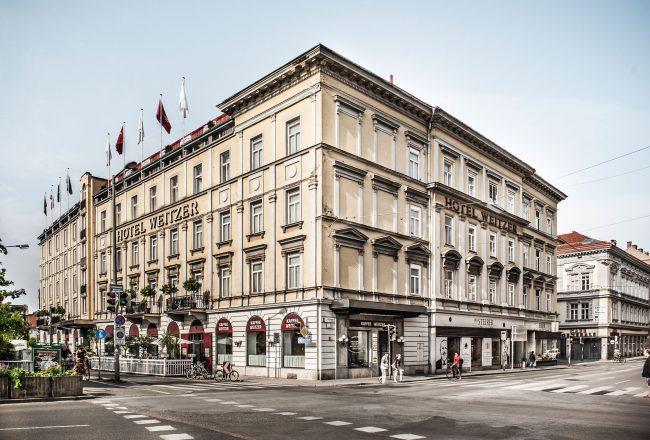 Hotel Weitzer Fassade © Weitzer Hotels