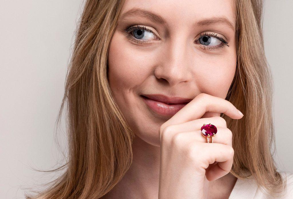 Schullin Rubellit Ring © Schullin