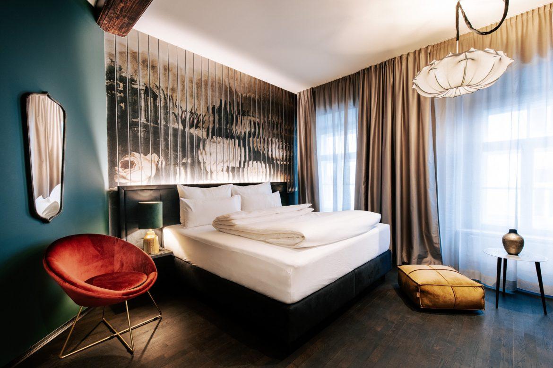 Ein Zimmer im Boutiquehotel im Herzen von Graz Aiola Living