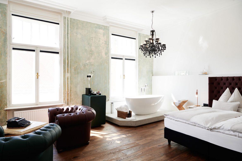 Ein Zimmer im Grand Hôtel Wiesler Royal Oak