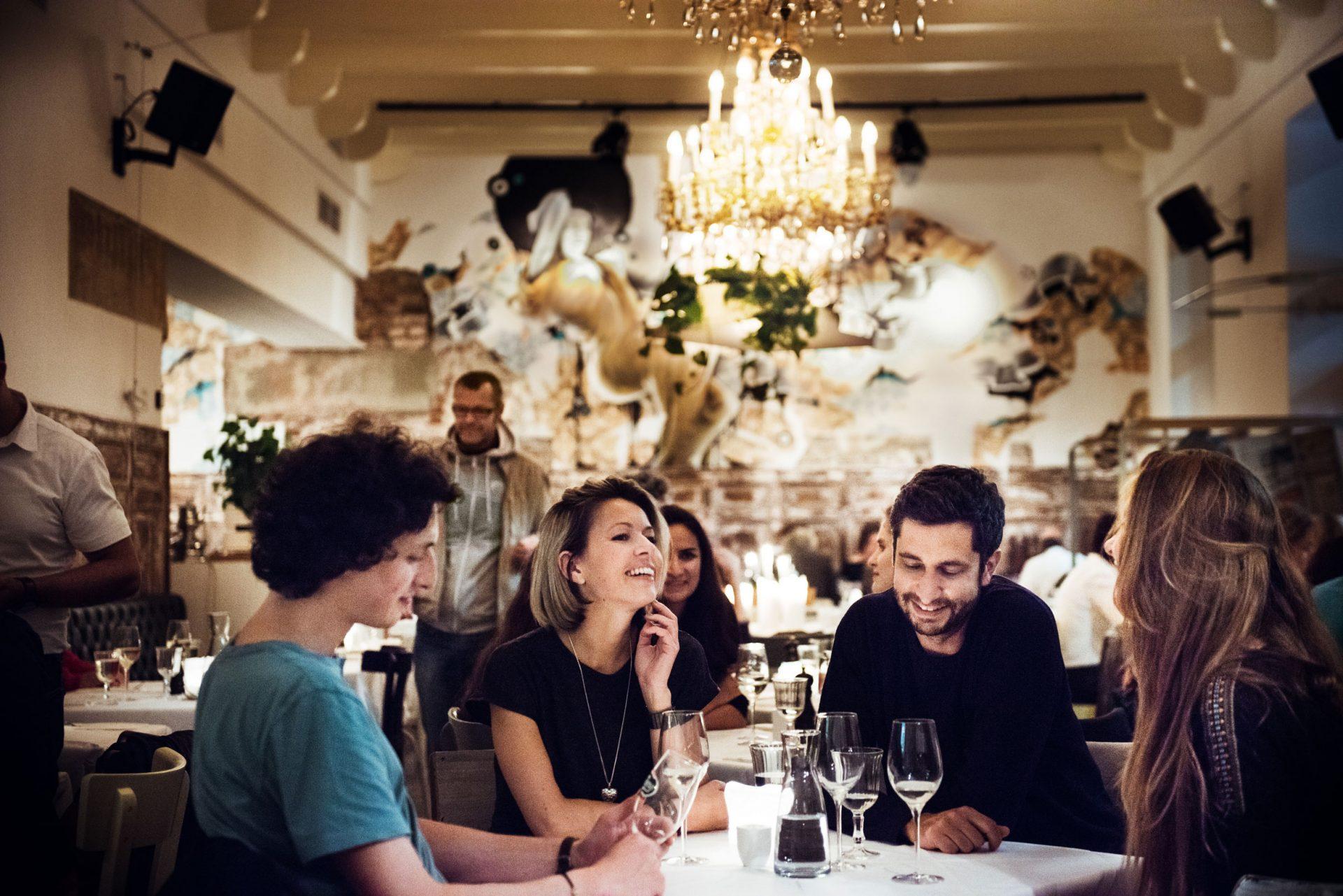 Restaurant Salon Marie im Grand Hôtel Wiesler