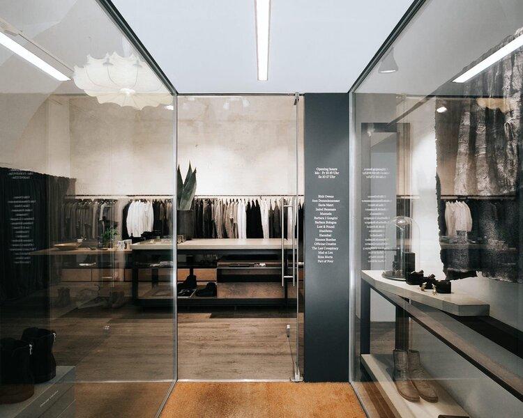 Store Secret Room von Innen