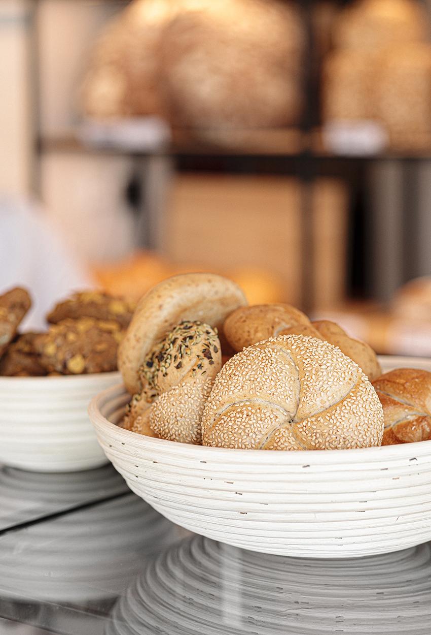 Bäckerei Sorger fertige Backwaren