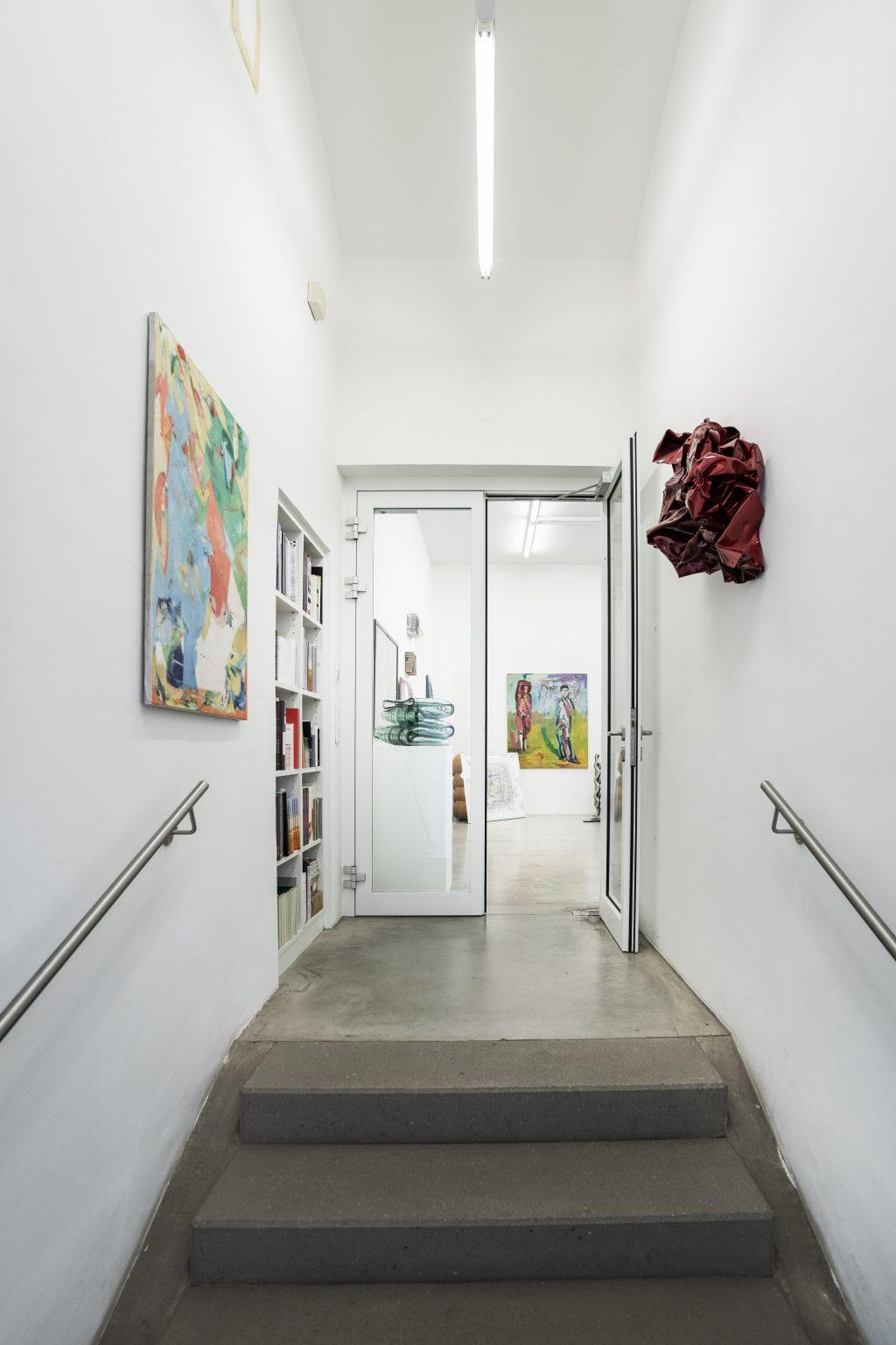 Eingang zur Galerie Leonhard