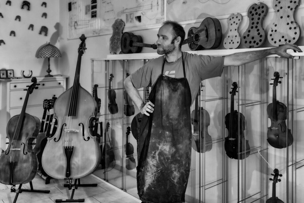 Instrumente in der Werkstatt